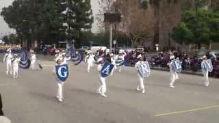 Garey HS - Anchors Aweigh - 2014 Pomona Christmas Parade