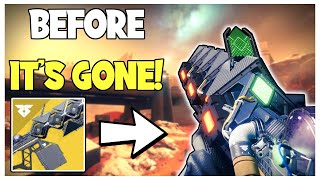 Before It's Gone: How To Get Sleeper Simulant! Exotic Weapon Guide | Destiny 2 Season of Arrivals
