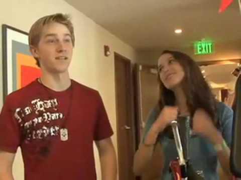 Cory in the House Cast Jason Dolley and Maiara Walsh at Nickelodeon Kids' Choice Awards 2009