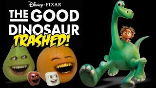 Annoying Orange - The Good Dinosaur TRAILER Trashed!!