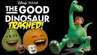 Annoying Orange - The Good Dinosaur TRAILER Trashed!!