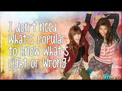 Zendaya & Bella Thorne - Watch Me (with lyrics)