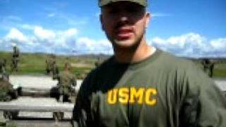 Camp Pendleton with the U.S. Marines at the Shooting Range