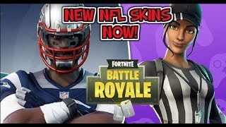 **NEW** Fortnite NFL Skins Out NOW!!