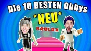 10 COOLE OBBYS BEI ROBLOX! Mit Nina & Kaan!