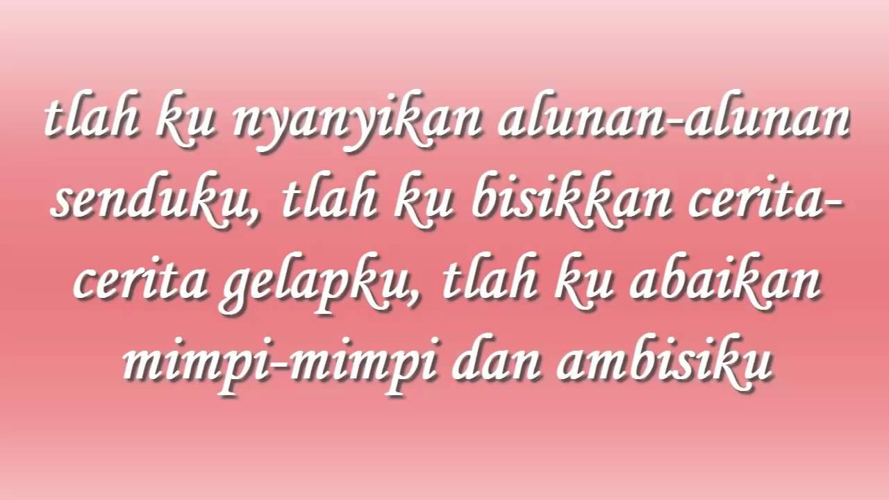Sherina - Simfoni Hitam (lirik)
