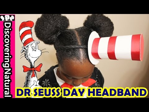 Dr Seuss Cat In The Hat Headband DIY   World Book Day #DrSeussDay
