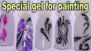 UV Gel Paint , Review , Demo,How To Use,banggood com