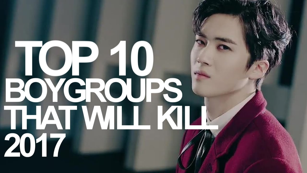 TOP 10 KPOP BOY GROUPS THAT WILL KILL 2017 (BY VOTES)