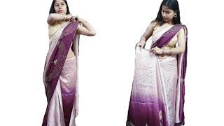 How to drape Ulta palla saree …