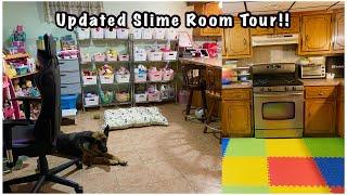 Slime Room Tour 2021!!