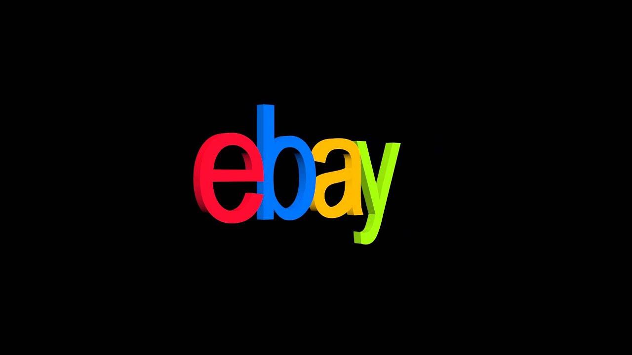 Ebay Logo Rotation Black Background Freehdgreenscreen Footage Youtube