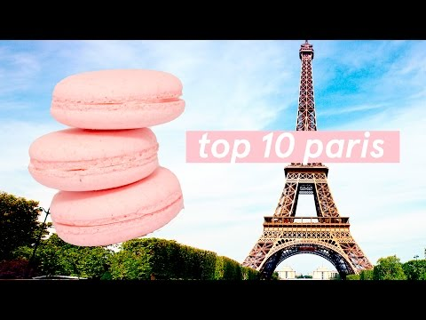 Top 10 ✨ Paris Food Tour Guide 🍳 Things you MUST eat in France! ✨ Street Food + Affordable options