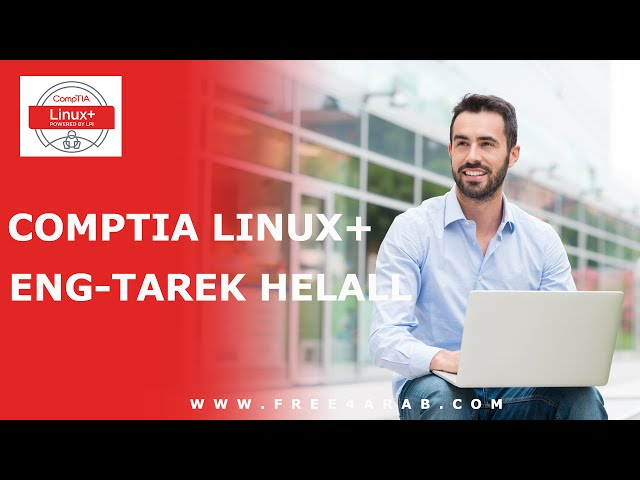 24-CompTIA Linux Plus (Group Management) By Eng-Tarek Helall   Arabic