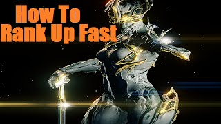 Warframe - How To Rank Up Weapons And Warframes Fast