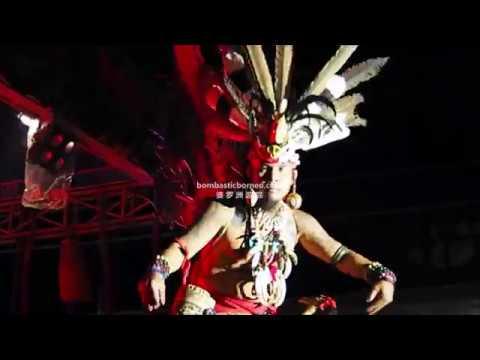 Gawai Dayak Budaya Sintang Kalimantan Barat Indonesia Borneo Travel