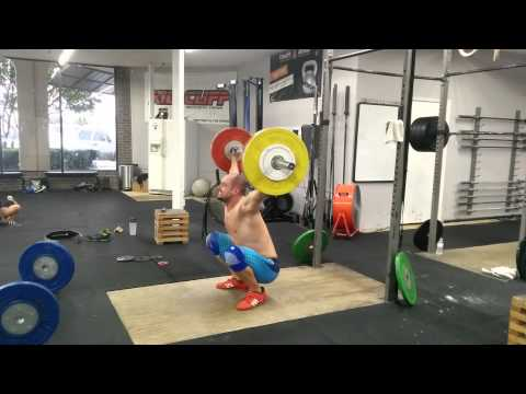 Willie McLendon 110kg Snatch