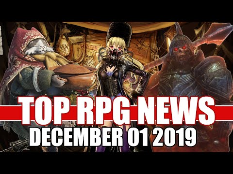 Top RPG News Of The Week - Dec 01, 2019 (Code Vein, MHW Iceborne, Demon Knights Of Ankhoron)