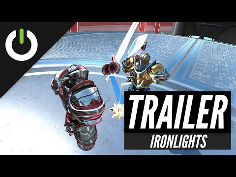 Ironlights combines epic VR melee fighting on Quest with LAN multiplayer support
