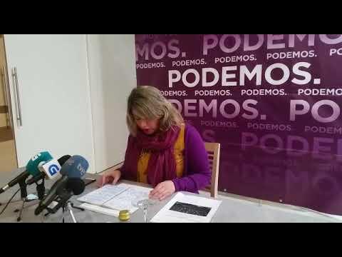 Carmen Santos, secretaria xeral de Podemos Galicia, responde a Villares