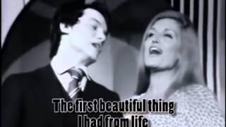 Prima Cosa Bella - Massimo Rainieri and Dalida sing 1971 w/English Subtitles
