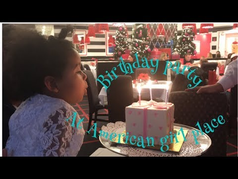 Birthday party at American girl place (Chicago 2018)