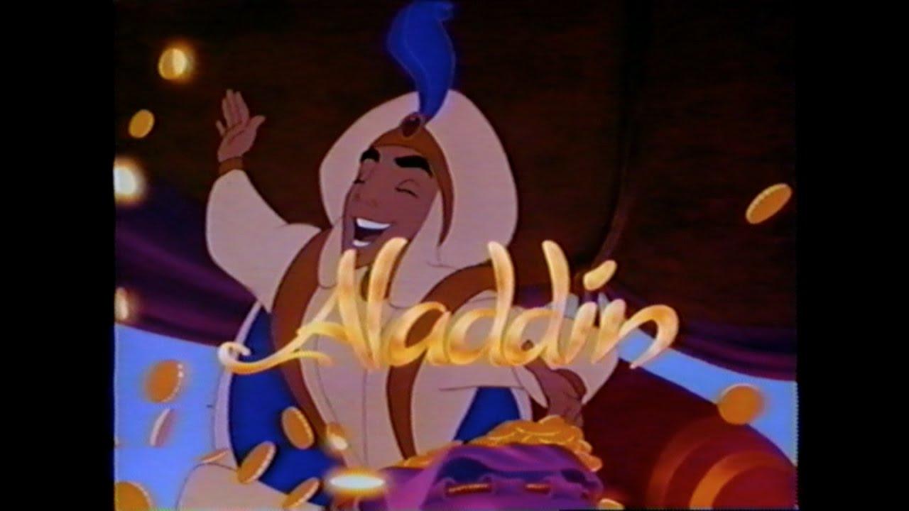Aladdin Trailer: ALADDIN MOVIE TRAILER [VHS] 1992