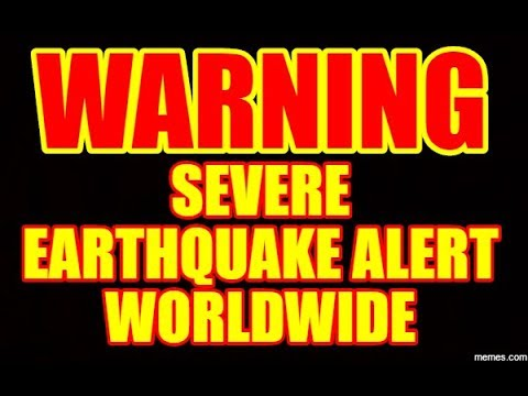 """LIVE STREAM"" - SEISMIC ACTIVITY RISING RAPIDLY WORLDWIDE - BE ON ALERT!"