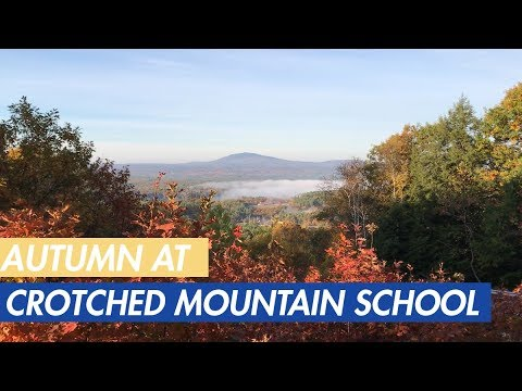 Autumn at Crotched Mountain School