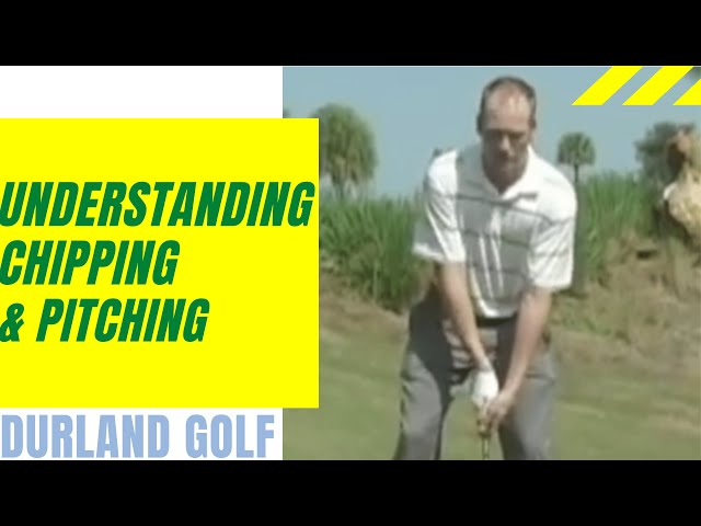 GOLF TIP | Understanding Chipping and Pitching