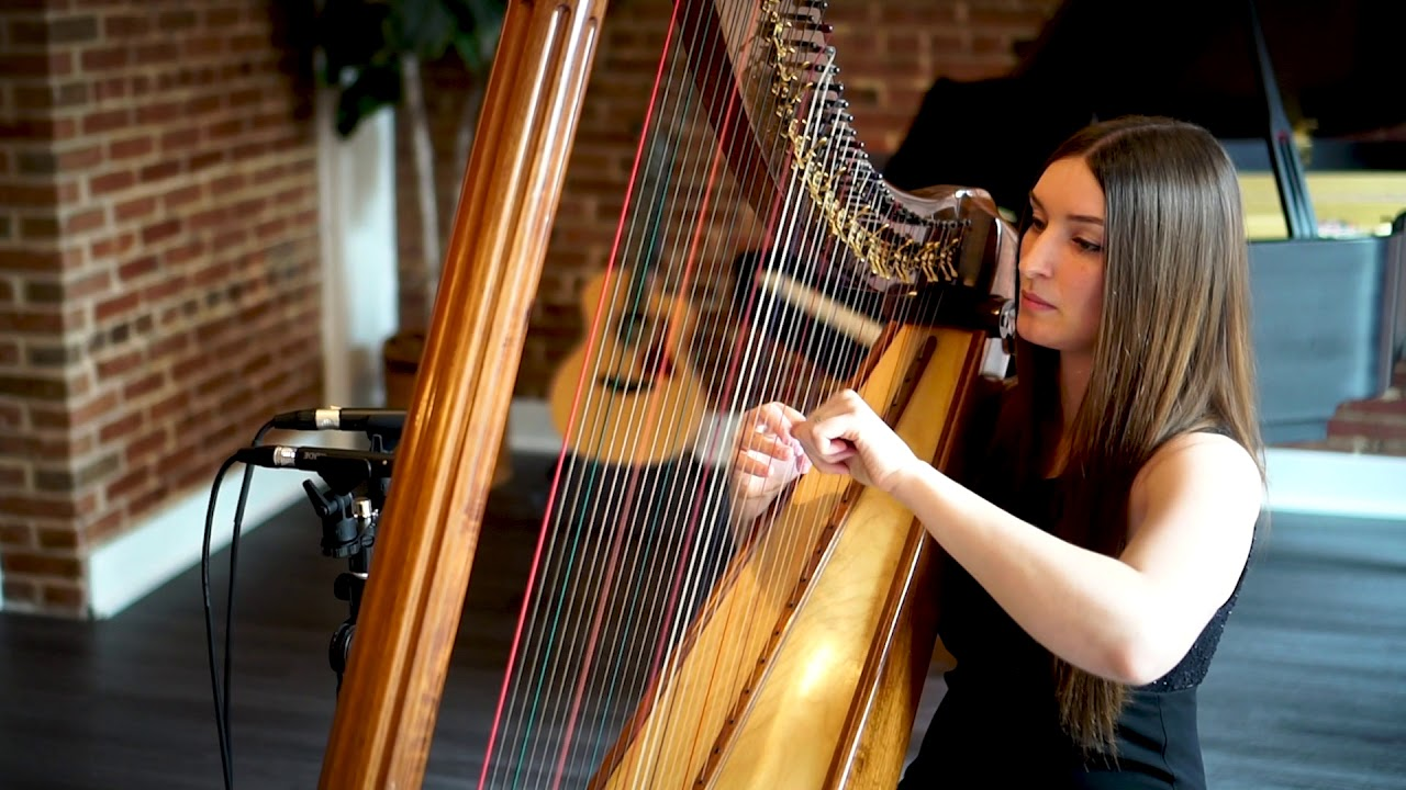 "Harpist - ""Tale as Old as Time"" 