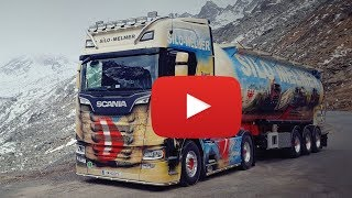 Scania S580 V8 NEXT GENERATION - 70 Jahre Showtruck - Silo-Melmer - Lkw-Thorsten TV