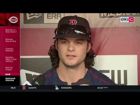 Hometown Kid: Andrew Benintendi returns home to Cincinnati as the Red Sox come to town