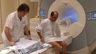 Déroulement de l'examen d'IRM
