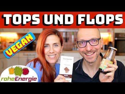 Vegane Tops und Flops
