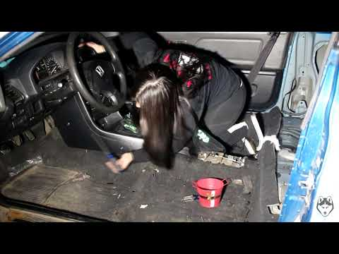 HOW TO REMOVE THE CARPET FROM A CRX