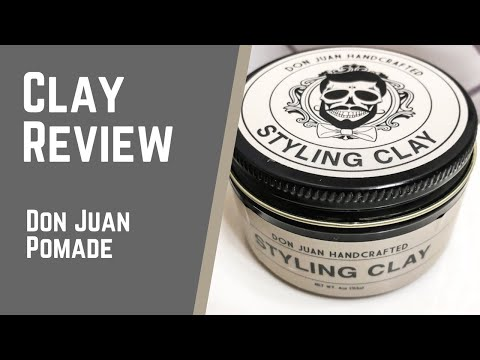 A GREAT Hair Clay At An Even Better Price | Don Juan Handcrafted Styling Clay Review