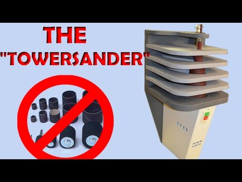 Building The Tower Sander
