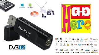 MyGica USB Digital TV สำหรับ Computer และ Android