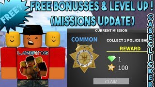 [Roblox] Case Clicker: FREE BONUSSES & LEVEL UP ! (MISSIONS UPDATE)