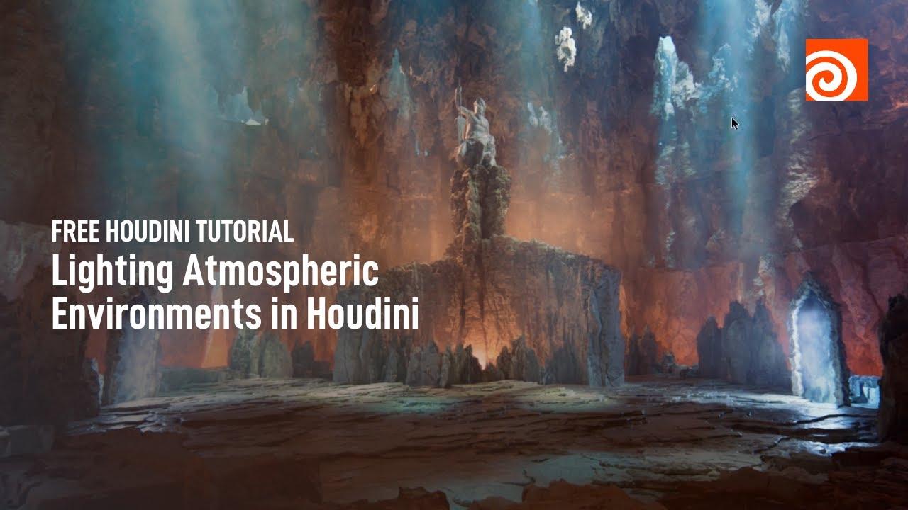 Lighting Atmospheric Environments In Houdini Video Tutorial Youtube