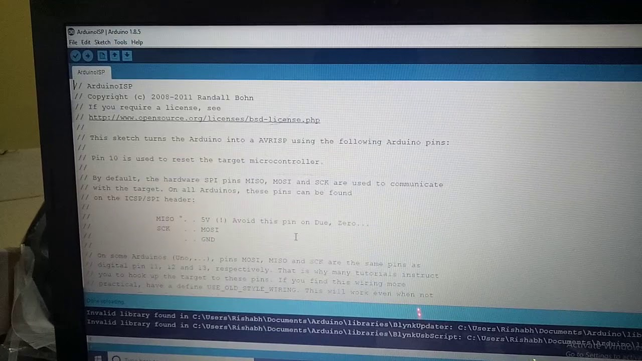 How to Burn Arduino Bootloader in Atemga328 IC and Program it using