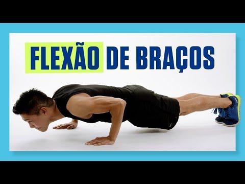 Como fazer FLEXÃO DE BRAÇOS - Flexão de braços para iniciantes - Treino para o peito em casa