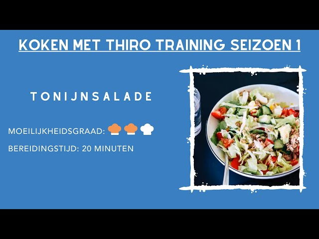Kook Video #4 tonijnsalade