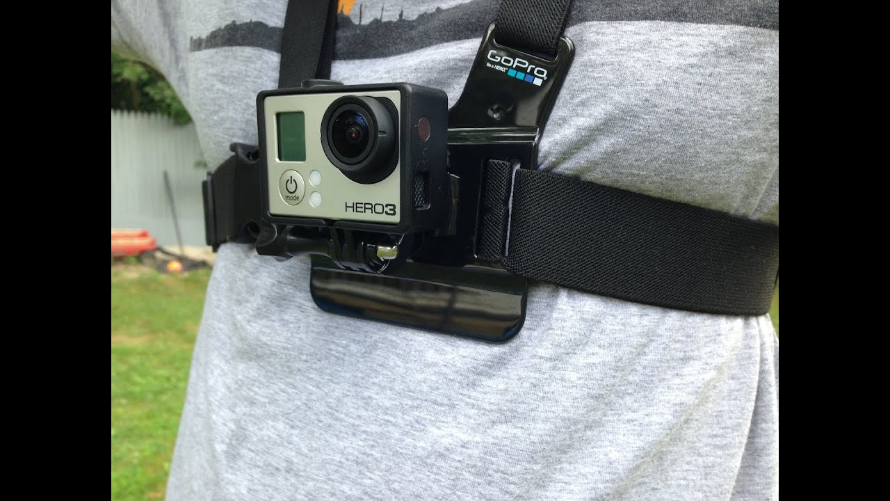 Gopro Hero 3 Chest Mount Harness Unboxing Youtube