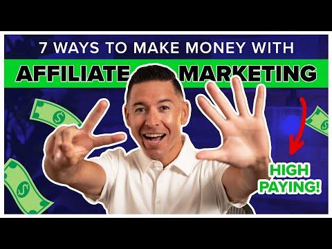 7 Best Ways to Make Money Online w/ Affiliate Marketing in 2021   Adrian Brambila