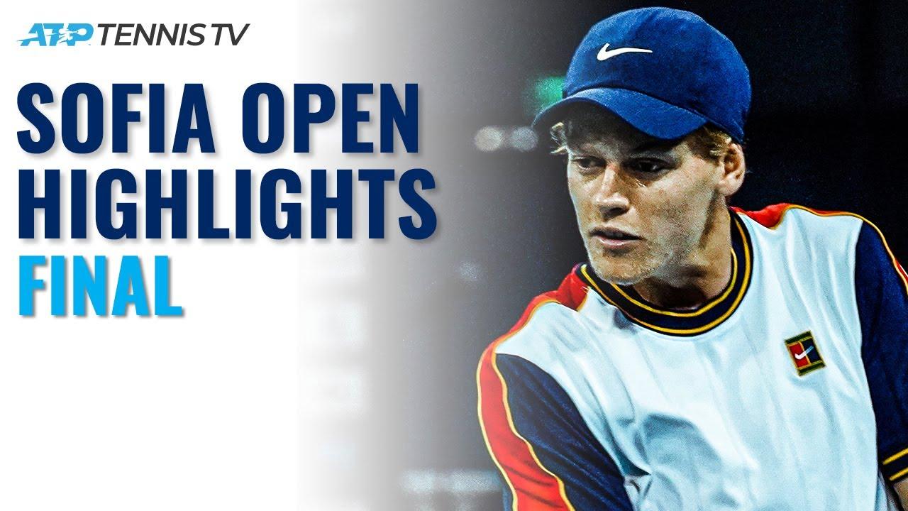 Jannik Sinner vs Gaël Monfils For The Title | Sofia Open 2021 Final Highlights