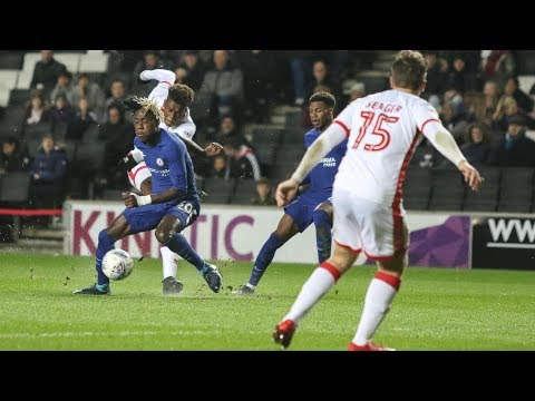 HIGHLIGHTS: MK Dons 0-4 Chelsea Under-21s