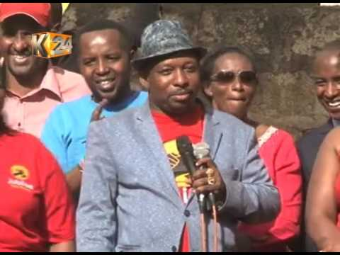 JP hold parallel rally in Mathare to champion their Nairobi Governorship candidates