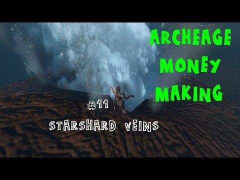 ARCHEAGE MONEY MAKING - ep.11 - Starshard veins